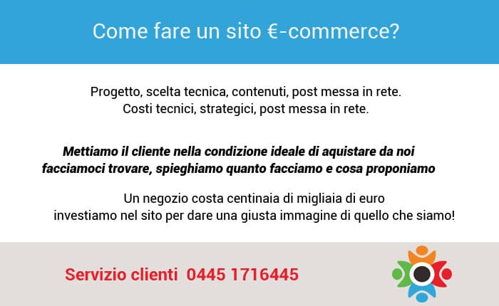 come fare un sito e-commerce