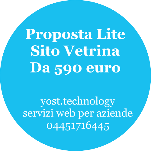 Sito Vetrina Lite | amdweb design 04451716445