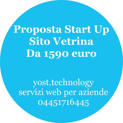 Sito vetrina Start Up | amdweb design 04451716445