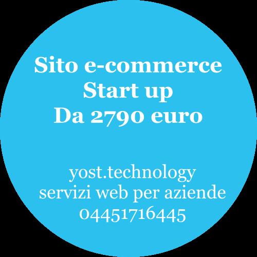 Sito e-commerce Start Up | amdweb design 04451716445
