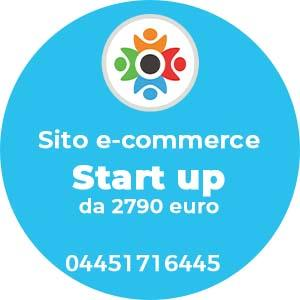 Sito e-commerce Start Up